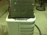New central air unit and made use of A coil. Central
