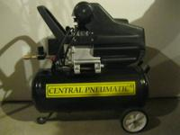 Central Pneumatic Air Compressor 40400 Used it a couple