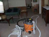 Central Vacuum, $425 plus shop vac, $65, 30 feet of
