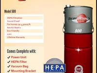Type: Central vacuumDream Vacuum 500 Central Vacuum