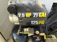 I have a Central Pneumatic Model 67847 2.5 HP 21 Gallon