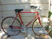 I am selling my beautiful red Centurion cruiser road