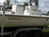 For Sale!! 1996 22.5' Century Bay Boat New deck, lifted