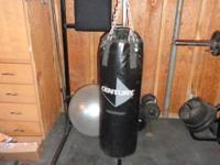 70 Pound Century large punching bag,  good condition.
