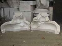 Approx. 500 Large, Medium, & Small Size Ceramic Molds