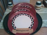 Never used, perfect condition... Pizza Set (made by
