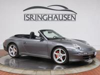 This beautiful 2007 Porsche 911 Carrera S Cabriolet was