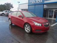 CLEAN CARFAX, ONLY ONE OWNER! Very nice Cruze 2LT with