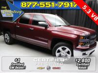 Tow Package, GM Certified, EcoTec3 5.3L V8 Flex Fuel,