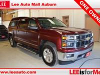 2014 Chevrolet Silverado 1500 LTZ Deep Ruby Metallic