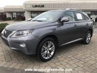 LEXUS CERTIFIED RX 350-NAVIGATION SYSTEM WITH BACKUP