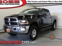 Black Clearcoat 2014 Ram 2500 Power Wagon Crew Cab 4WD,