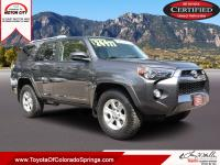 Gray 2014 Toyota 4Runner SR5 RWD 5-Speed Automatic with