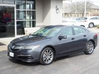 CARFAX One-Owner. Graphite 2015 Acura TLX 3.5L V6