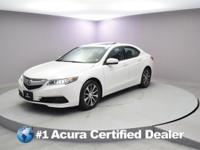 Certified. 2015 Acura TLX 2.4L Priced below KBB Fair