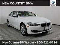 Certified. Alpine White 2015 BMW 3 Series 328i xDrive