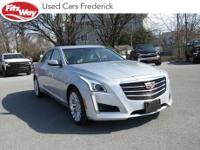 2015 Radiant Silver Metallic Cadillac CTS 6-Speed