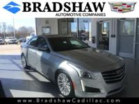 Radiant Silver Metallic 2015 Cadillac CTS 3.6L