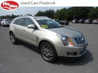 2015 Silver Cadillac SRX 6-Speed Automatic On-Star,