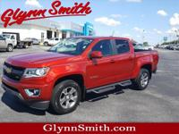 This Red 2015 Chevrolet Colorado Z71 might be just the