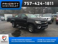 2015 Chevrolet Z71 Colorado Black Navigation, Backup