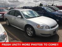 Clean CARFAX. Certified. Impala Limited LT, 4D Sedan,