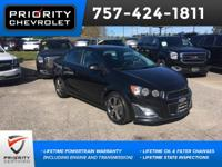 2015 Chevrolet RS Sonic Black Granite Metallic