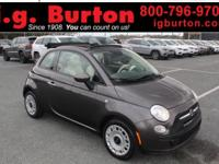 2015 Fiat 500c Pop ***THIS VEHICLE IS SCHEDULED TO