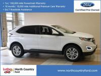 Non-Smoker vehicle, CARFAX 1-Owner, Ford Certified,