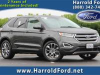 2015 Ford Edge Titanium w/Moonroof Odometer is 6562