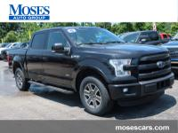 Recent Arrival! Certified. 2015 Ford F-150 Lariat Black