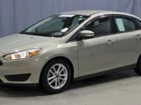 Certified. Gold 2015 Ford Focus SE FWD 6-Speed