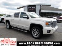 Certified. White Diamond Tricoat 2015 GMC Sierra 1500