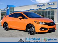 This Orange 2015 Honda Civic Si might be just the coupe