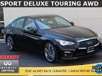 INFINITI FACTORY CERTIFIED, NO ACCIDENT HISTORY, AWD, 1