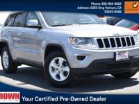 Certified. Billet Silver Metallic Clearcoat 2015 Jeep