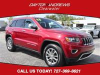 Certified. CARFAX One-Owner. This 2015 Jeep Grand