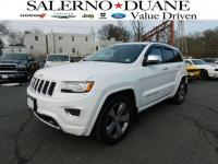 CERTIFIED 2015 JEEP GRAND CHEROKEE OVERLAND 4WD WITH