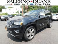 2015 CERTIFIED JEEP GRAND CHEROKEE OVERLAND 4WD WITH