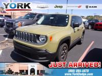 Commando 2015 Jeep Renegade Sport 4WD 6-Speed Manual
