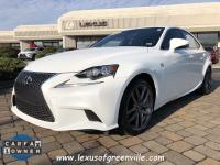 2015 LEXUS IS 350 WITH THE F SPORT PACKAGE-NAVIGATION