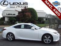 L/Certified by Lexus, One-Owner with Clean CARFAX
