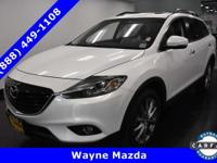This Mazda CX-9 has a powerful Regular Unleaded V-6 3.7
