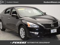 PRE-CERTIFIED, Altima 2.5 S, 4D Sedan, Black.Priced
