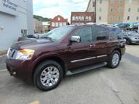 Armada Platinum 4X4!! Nissan Certified!! Only 24,000