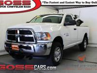 Bright White Clearcoat 2015 Ram 2500 Tradesman, Regular