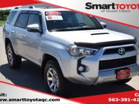 Certified. Classic Silver Metallic 2015 Toyota 4Runner