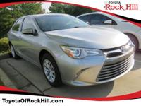 We are excited to offer this 2015 Toyota Camry. When