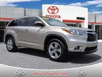 2015 Toyota Highlander LimitedLocal Trade - In, Safety