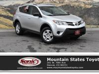 Come see this Silver 2015 Toyota RAV4 LE. Its Automatic
